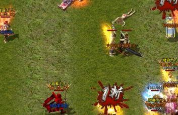 战士玩家在连击传奇中怎样打沙巴克
